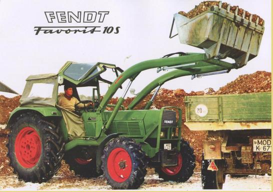 Fendt Favorit 10S 6-Zylinder Traktor