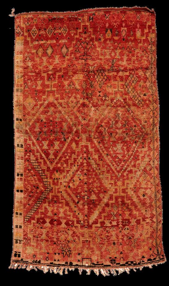 Teppich. Zürich. Rare and big semi-antique Berber Rug from Morocco. Grösser geknüpfter Teppich, Marokko.