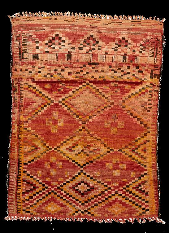 Teppich. Zürich. Vintage Marmoucha Rug, berber tribe from Morocco. Handgewebter Teppich, Kelim.
