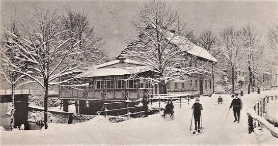 Ansichtskarte von Uhlig's Gasthof