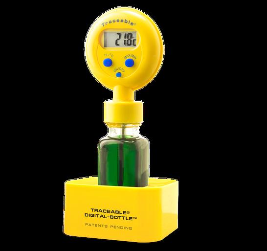 Termómetro digital para refrigerador o congelador con certificado trazable a NIST 4426