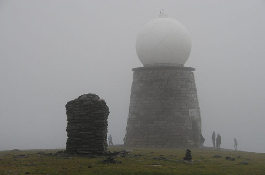 Vestkapp im Nebel