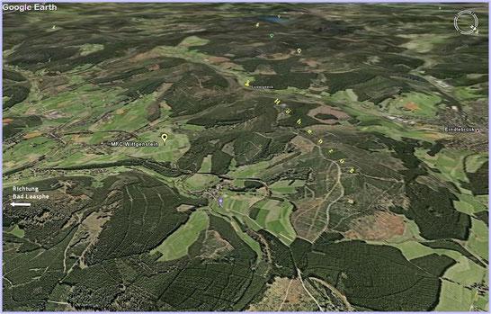 3D-Foto von GoogleEarth