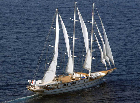 Galileo of Aegean Yacht  launched in 2008 is a 50 m / 164 ft  luxury yacht built in Bodrum (Turkey)
