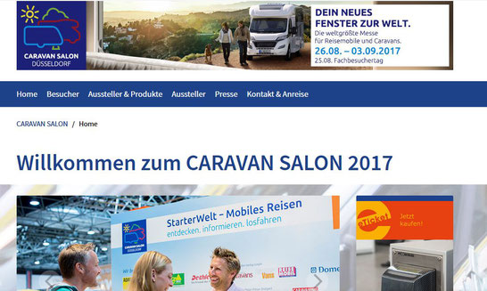 CARAVAN SALON 2017 in Düsseldorf