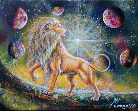 Le signe du Lion dans lequel se situe l'éclipse solaire totale du 21 août 2017