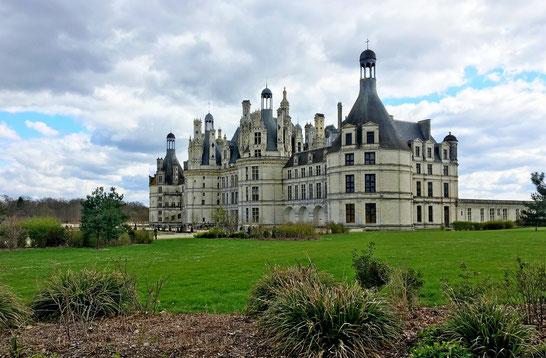 Chateau de Chambord Unesco Castelli della Loira Francia