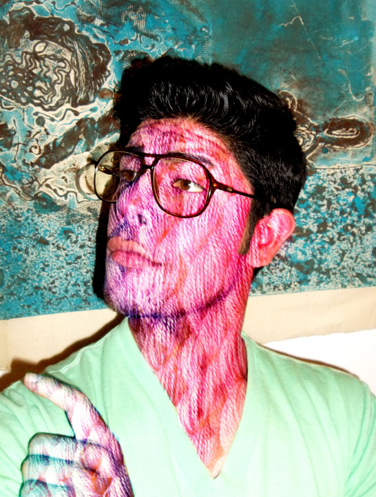 """Caraestambre"" Yair Medina, photoshop 2013."
