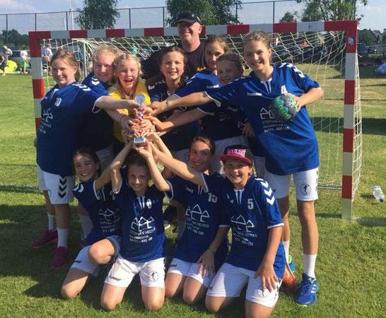 Weibliche D-Jugend - Saison 2017/18 - Jahrgang 2005/06