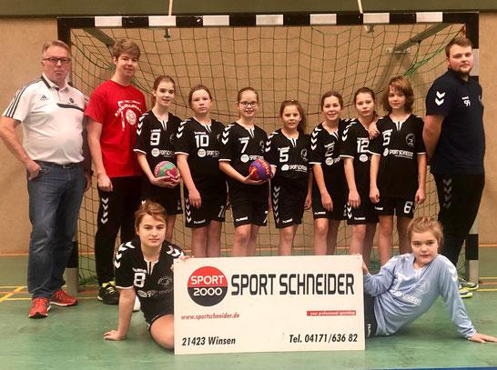 Weibliche D-Jugend 2 - Saison 2018/19 - Jahrgang 2006/07