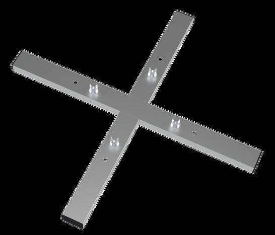 Vertitruss MXA-1000 Bodenplatte in der Draufsicht