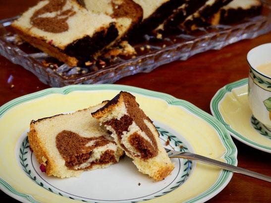 Marmorkuchen ohne Eigelb