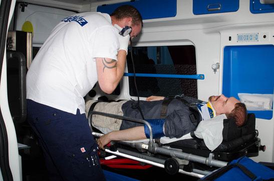 Sicherer Krankentransport in Berlin