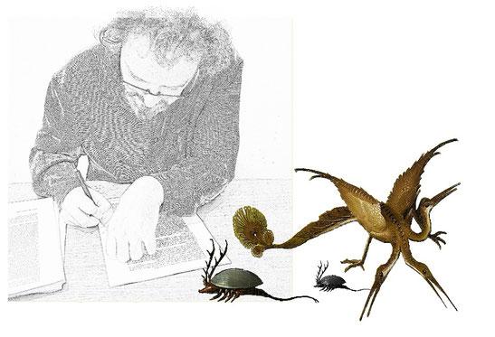 crédit photo : Etienne Fournet    -        illustrations d'après Jérôme Bosch.