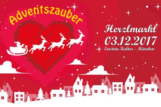 Herzlmarkt im Einstein Kultur München, maannaxl ist dabei