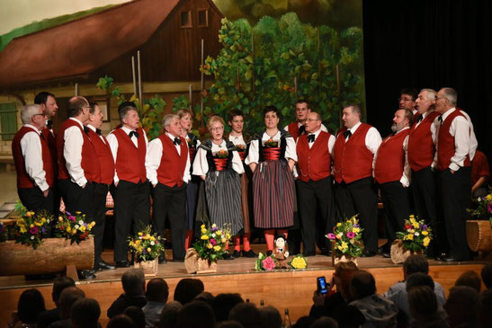 Jodlerabend 2015 am 31. Januar 2015 im Mittenza in Muttenz