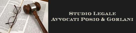 Studio Legale Avvocati Posio e Gorlani