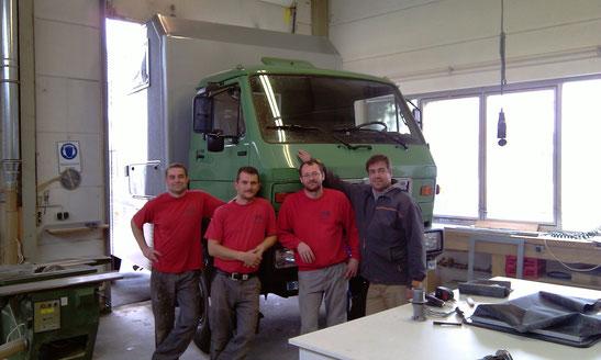 von li: Thomas, Christian, Bernhard, Günther