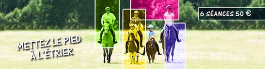 Equitation pour tous au centre équestre la courbette