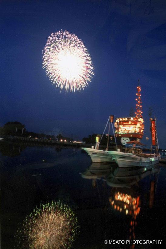 #Japan #Mie_prefecture #Ise #hanabi #port #fireworks #fogos_de_artificio #matsuri
