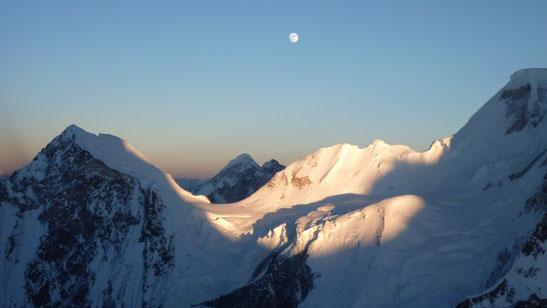 Wunderschöne Abendstimmung im Abstieg © G. Kaltenbrunner