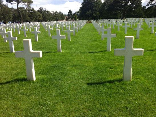 Cimetiere militaire americain de Colleville-sur-mer