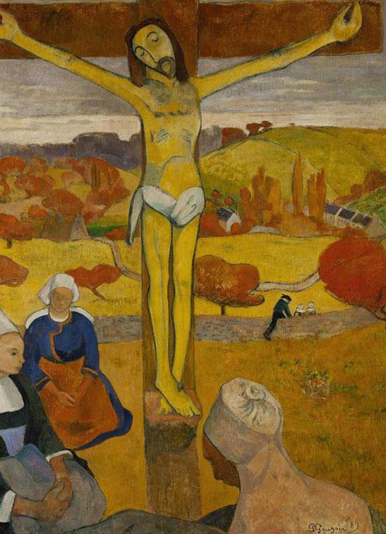 Жёлтый Христос  - Поль Гоген (1889)