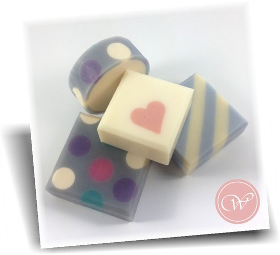 Cold process soaps by Fraeulein Winter