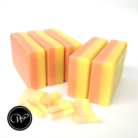 PFIRSICH-ROSÈ | Cold process soap by Fraeulein Winter