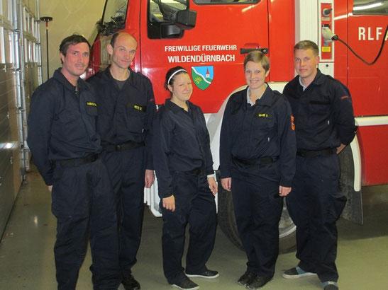 Im Bild: Harrach Christian, Fritz Günter, Bruckner Stefanie, Mahr Yvonne und Babor Andreas.