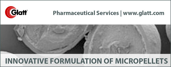 Expertise in development of multiparticulates - Glatt Pharmaceutical Services