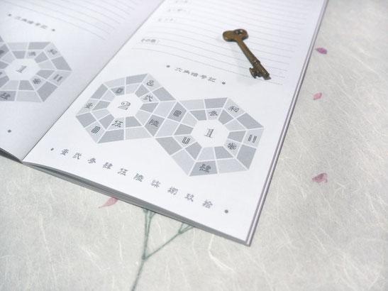 パスワードを手書きで管理できるノート