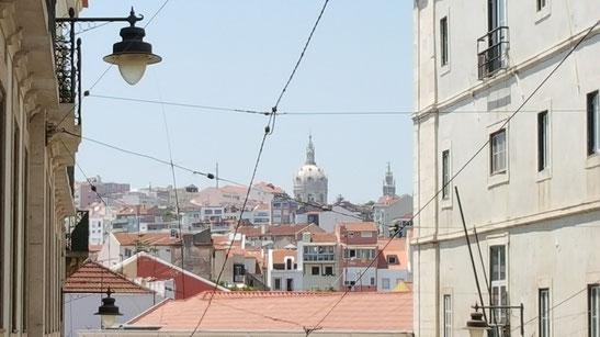 Bild: Straßen Lissabon