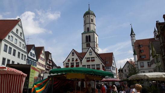 Marktplatz Biberach an der Riß