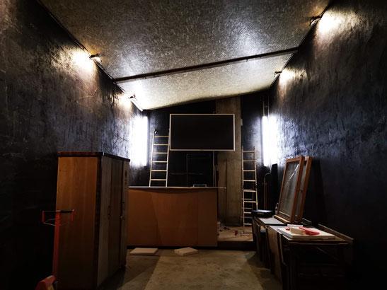 Bau unserer neuen Räume