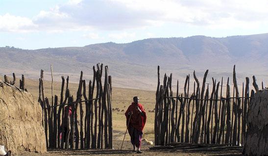 photo internet berger maasaï N'Gorongoro Conservation Area