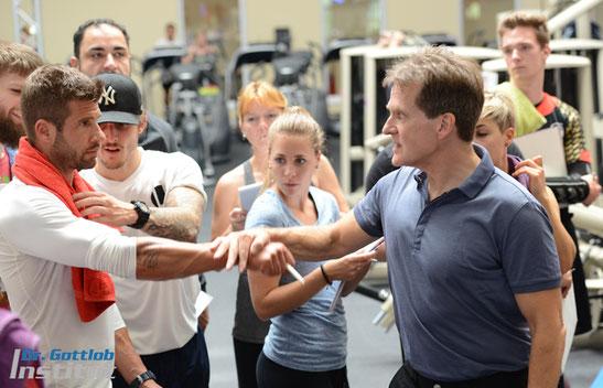 Ausbildung Dr. Gottlob Institut zum zertifizierten Fitnesstrainer
