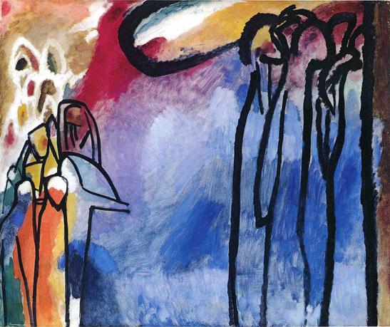 """Vasilij Kandinskij, """"Improvvisazione"""""""