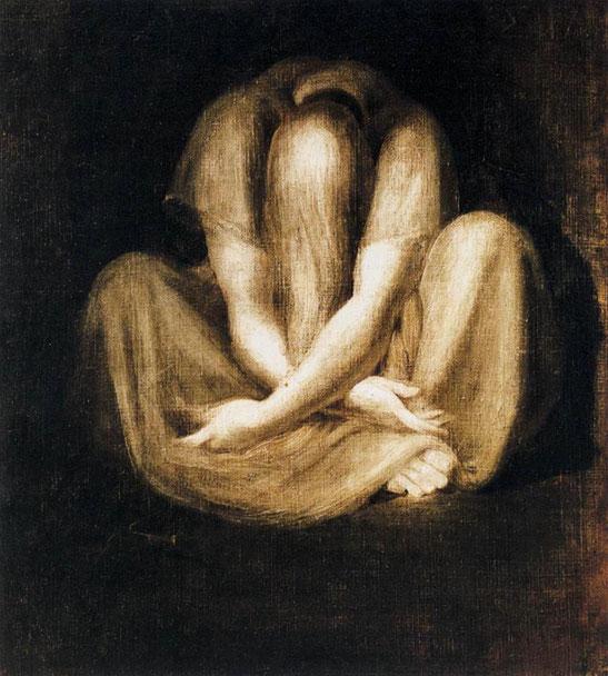 """Johann Heinrich Füssli, """"Il silenzio"""""""