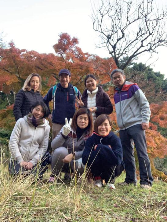 12月開催の山の瞑想会in大山