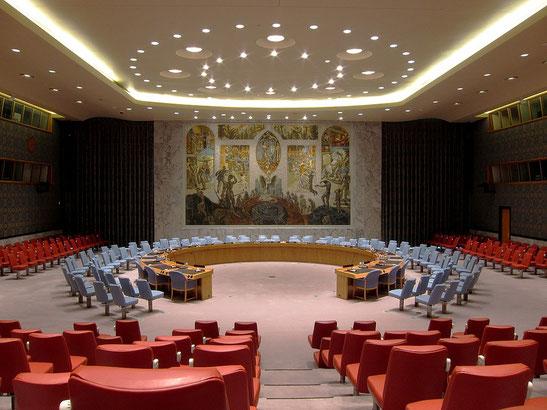 L'ONU devient l'«autorité centrale d'un nouvel ordre international de lois et de gouvernement mondiaux». Il s'agit de la bête à 7 têtes du livre de l'Apocalypse qui reçoit l'adoration de tous les habitants de la terre et le pouvoir de diriger la terre.