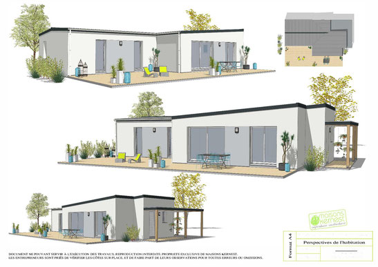 Maisons Kernest, le constructeur de votre maison individuelle sur le terrain de votre choix à Besné (44160)