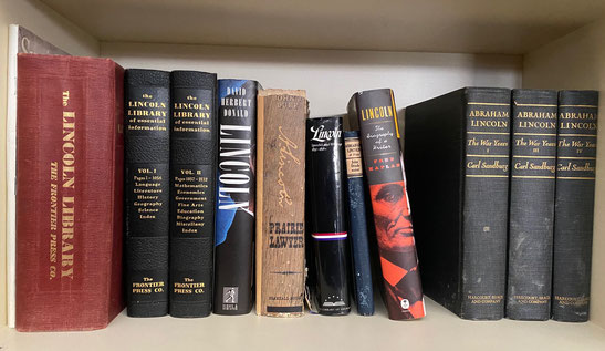Assortment of Books on Abraham Lincoln