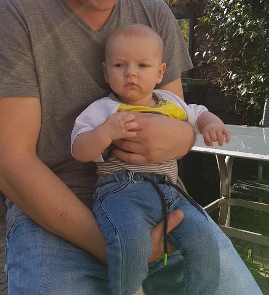 Dean 3 maanden oud