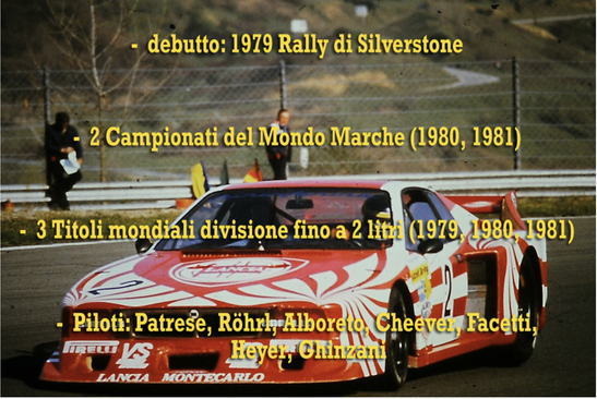 lancia beta montecarlo turbo palmares le mans brands hatch campione del mondo world rally champion