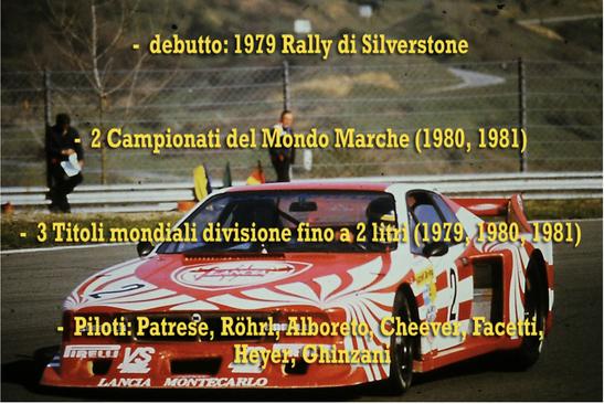 lancia beta montecarlo turbo palmares le mans brands hatch campione del mondo world rally champion