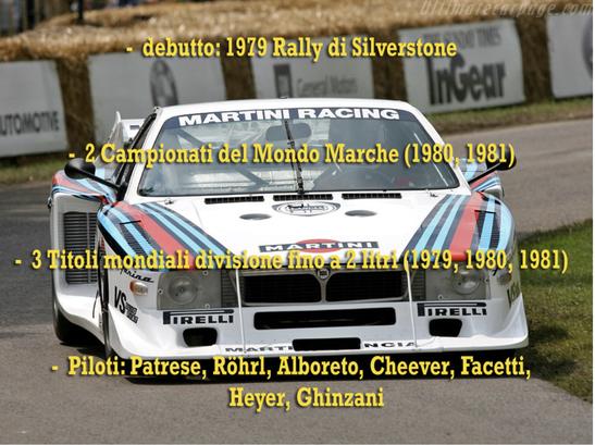 world rally champion lancia beta montecarlo martini world champion palmares