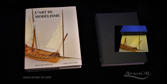"Presentation of the achievements of the modellist Bernard Frölich ""L'Art du Modélisme"" & ""Encyclopédie Navale des Modèles Réduits"" by Wolfram zu Mondfeld."