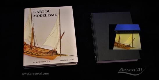 """Présentation des réalisations du Modéliste Bernard Frölich """"L'Art du Modélisme"""" & """"Encyclopédie Navale des Modèles Réduits"""" de Wolfram zu Mondfeld."""