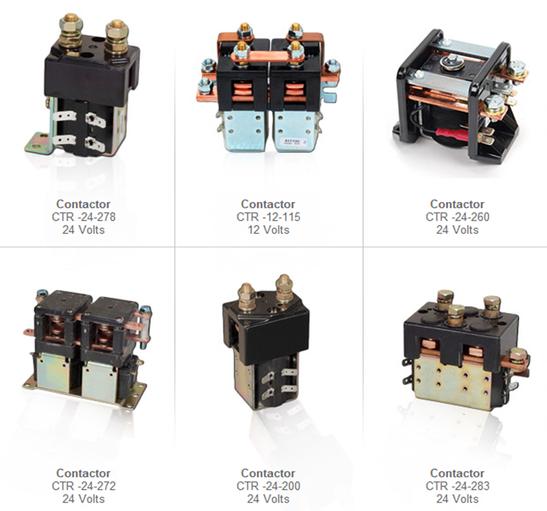 contactores electronico partes refacciones montacargas mexico